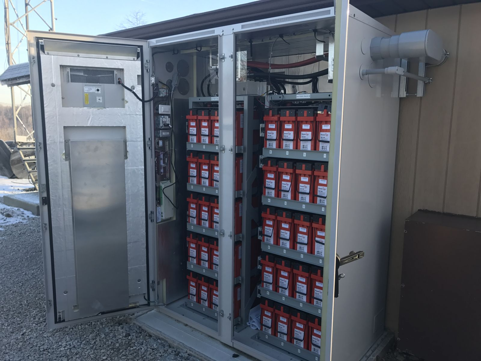 Purcell Systems Outdoor Rack Enclosures For Cable Mso